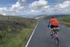 Machynlleth mountain road