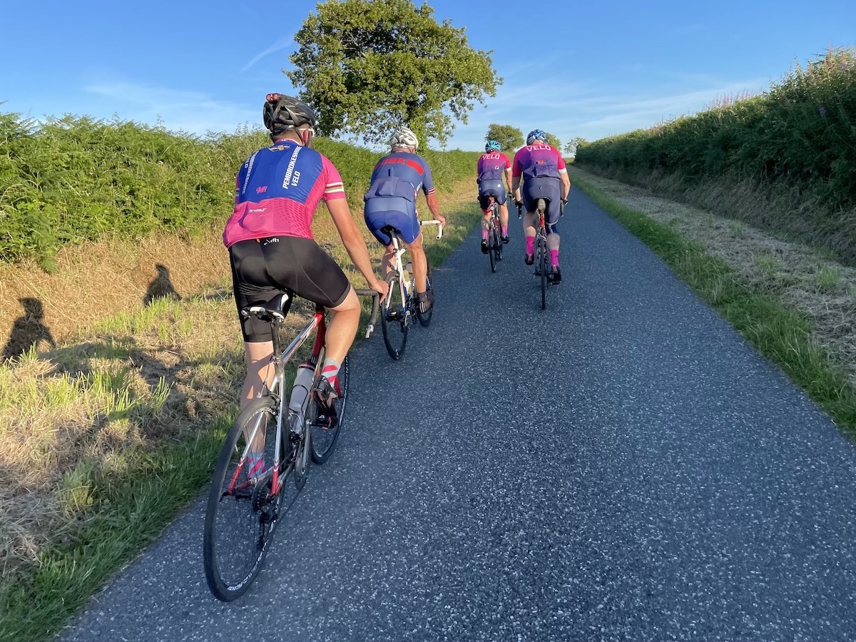 Narberth fast group ride (chaingang) Wednesdays 2021